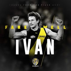 @ivanmaric_20 has announced his retirement from AFL football, effective at the end of the season. Thanks for everything, Ivvy