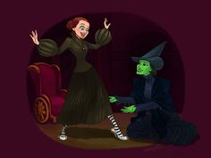Wicked witch of the East by squeegool.deviantart.com on @DeviantArt