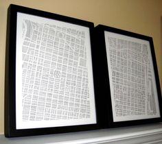 Print of Philadelphia Map