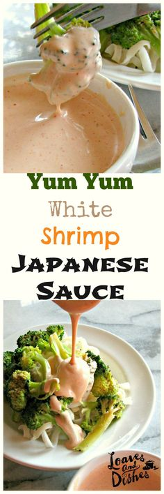 Yum Yum, White, Shrimp or Japanese Steak House Sauce - whatever you want to call it - this is the recipe.  Just like your favorite Japanese Steak House.  Easy. Whip some up today!  www.loavesanddishes.net
