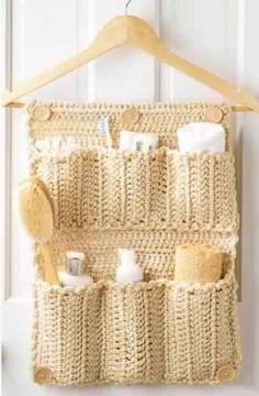 Декорирование при помощи вязания - идеи.