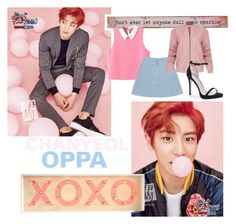 """""""CHANYEOL"""" by egsmith520 ❤ liked on Polyvore featuring MABEL, Natural Life, WithChic, Helmut Lang and Boohoo"""