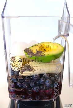 Blueberry Avocado Smoothie 3