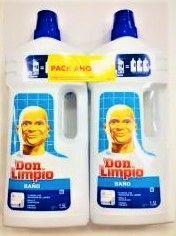 Don Limpio Bano 1 5 L 2 X 1 Con Imagenes Banos Limpiar