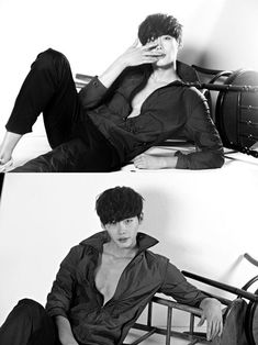 Lee Jong Suk teases fans with his almost shirtless cuts for 'Dazed and Confused' Lee Jong Suk Shirtless, Lee Jong Suk Hot, Lee Jung Suk, Lee Jong Suk Smoking, Korean Star, Korean Men, Korean Actors, Korean Dramas, Asian Actors