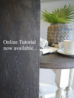 Create a farmhouse rustic wooden top Concrete Effect Paint, Rustic Farmhouse, Farmhouse Style, Wooden Tops, Step By Step Painting, Travertine, Earthy, Light Colors, Studios