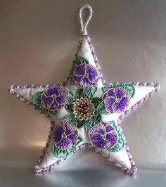 beaded ornament-so lovely!  by novas blossoms