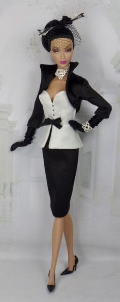 Love is Black & White by Matisse for Silkstone. Wow!