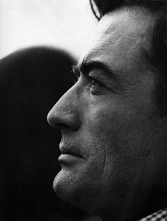 """ Gregory Peck: ""I'm a free soul, you remember. Before I became an actor, I wanted to be a writer. Freedom of mind and action is important to me."" """