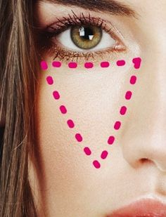 How to cover dark circles under eyes, the RIGHT way.