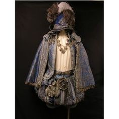 The Three Musketeers 2011 movie; King Louis XIII of France costume