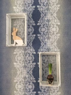 Behang denim / Wallpaper denim collection More Than Elements by Louhome Styling - BN Wallcoverings