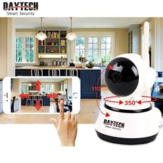 Daytech Home Security IP Camera Wireless 720P Night Vision