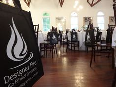 DIA Spring Dinner 2013 - Designer Fire logos on the 'swag bags' for guests to take home