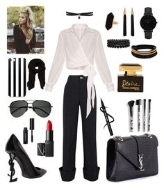 """Presentation Day at Work"" by kae-mitch on Polyvore featuring Jacquemus, Yves Saint Laurent, Fallon, CLUSE, Jaeger, Vita Fede, Bling Jewelry, NARS Cosmetics, Torrid and Dolce&Gabbana"