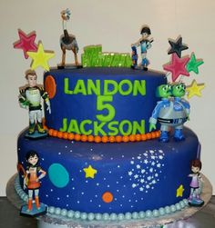 Miles from tomorrowland cake.