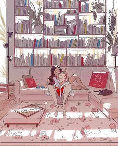 Pascal Campion, Meet me behind the bookshelf.