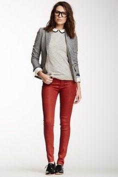 Outfits para Trabajar con Jeans 7