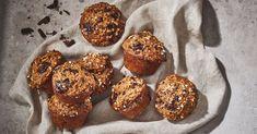 Muffins à l'érable et au chocolat noir | Érable du Québec Pancake Muffins, Chocolate Muffins, Muffin Recipes, Sweet Bread, Biscuits, Yummy Food, Snacks, Baking, Breakfast