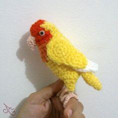 Agapornis Lovebird by AmiAmaLilium.deviantart.com on @deviantART