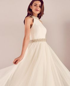 Wow love this wedding dress! from @tedbaker bridal collection #WedWithTed