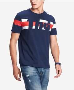 Shirt  M L XL XXL XXXL T NWT Men/'s Tommy Hilfiger Denim Short-Sleeve Tee