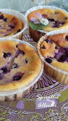 {Süße Kleinigkeiten} Blaubeer-Cheesecake-Muffins