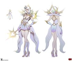 ArtStation - Elementalist Lux - Light, Paul Kwon