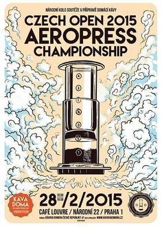 Beautiful And Daring Posters From The 2015 International AeroPress Circuit Rad Coffee, Coffee Desk, Coffee Art, Coffee Republic, Coffee Advertising, Coffee Review, Coffee Pictures, Mosaic Art, Mosaics