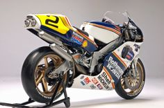 Racing Scale Models: Honda NSR 500 W.Gardner 1989 by Utage Factory House (Hasegawa)