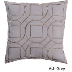 Decorative Line 18-inch Poly or Down Filled Throw Pillow | Overstock.com Shopping - The Best Deals on Throw Pillows
