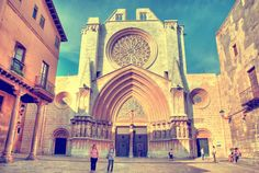 Place: Catedral de Santa María, #Tarragona / #Catalonia, #Spain. Photo by Ventura Carmona (500px.com)