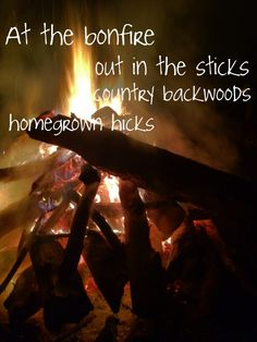 Bonfires and cold beer.  Come on summer hurry up and get here!!!