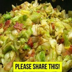 SKINNY FRIED CABBAGE