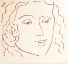 Florilège des Amours de Ronsard, 1948 Henri Matisse,