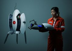 Portal 2 Wall Decals. Why not a turret for the nursery?