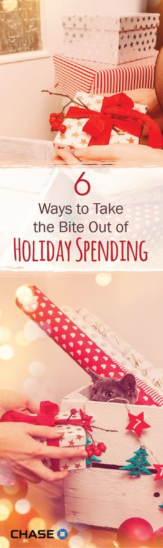 With the holidays fast approaching, don't forget about your finances; Americans spent $602 billion during the 2013-2014 holiday season! Here are 6 tips on how to manage your money while still staying in the gift-giving spirit. #sponsored