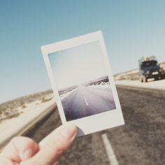 The road to nowhere using the #instax by @kerring_lee