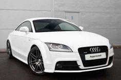 Ibis White  Audi TT Coupe