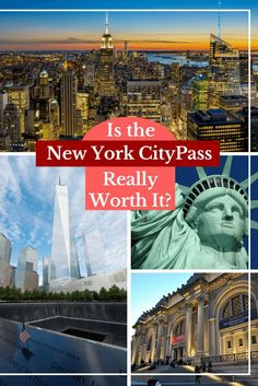 Is the New York CityPass Really Worth it? NYC is pricey and sightseeing costs add up fast! This New York CityPASS guide (written by a local!) breaks it all down so you can make the right decision for your NYC travel plans.  #NYC #travel #Newyorkcity