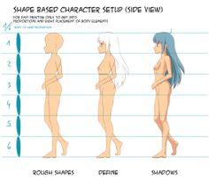 Basico Tutorial Manga Anatomia Por Hoshi Kou