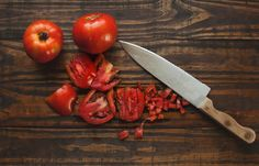 Delicious Garden Fresh Salsa  _ Easiest Recipe Ever _ Ashley Erin West