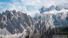 Montañas Dolomitas en Italia