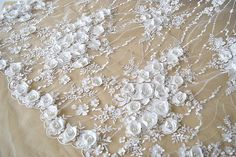 ★MATERIAL  Cotton,polyester fibre ★MEASUREMEN  Width: 135(cm)/53.14  ★QUANTITY  This listing is for 0.5 yard   All the lace are perfect for lingerie, bra, dresses, dolls, bridal veil, altered art, couture, costume, jewelry design, pillowcase, home decor and other projects you could imagine.  If you like it, order it now. For more quantity, please feel free to convo me for custom listing.