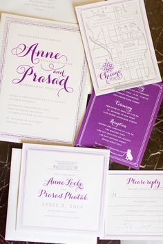 Classically Modern Chicago Wedding from Bliss Weddings and Events - MODwedding