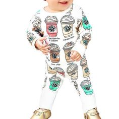 Summer%20Cool%20Drinks%20White%20Romper%20for%20Baby%20Unisex%2C%2038%25%20discount%20%40%20PatPat%20Mom%20Baby%20Shopping%20App