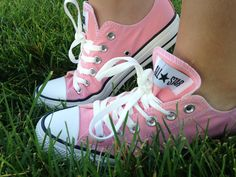 These light pink converse were purchased at ross for only $24.99! Converse usually are around $40-50 so we got them half off! This is a great way to save your money . Go to places that have great deals ! If there is not a Ross near you check out other stores such as TJ Maxx.