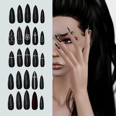 Shiny Claws by Leah Lillith - Sims 3 Downloads CC Caboodle