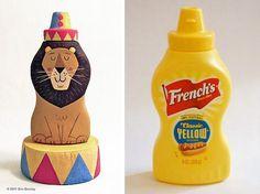 Recycle it! Reciclagem  de embalagem - eric barclay art
