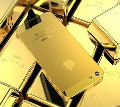 Golden iPhone 5 Housing | The Gadget Flow